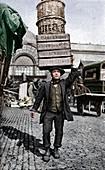 A Covent Garden market porter, London, c1922