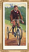 A Notable Tricyclist - F T Bidlake, 1939