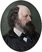 Alfred Tennyson, DCL, FRS, English Poet Laureate, 1883