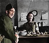 Canteen piece, 1941
