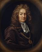 Elias Ashmole, 1687