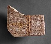 Tablet, Old Babylonian, c1800-1600BC