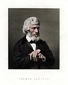 Thomas Carlyle, Scottish essayist, satirist, and historian