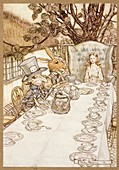 A Mad Tea Party, 1907