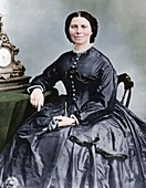 Clara Barton, founder of American Red Cross