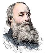 James Prescott Joule, English physicist, 1889
