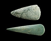 Jadeite axes: Neolithic Period (central Europe)