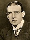 Portrait of E Shackleton, c1905