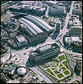 Lime Street Railway Station, Liverpool, UK, 1980