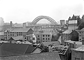 Tyne Bridge, Newcastle upon Tyne, UK, 20th century