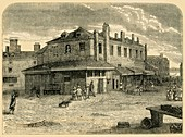 Old Hungerford Market, 1881