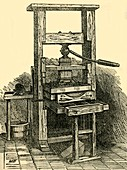 Duplicate of Franklin's Press, 1881