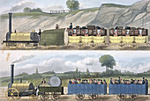 Liverpool and Manchester Railway, 1832-1833
