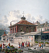 Clare Market, Westminster, London, 1815
