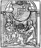 Ferdinand I, Holy Roman Emperor, and Johann Vogelin, 1529