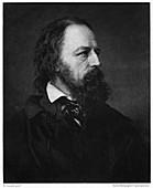 Alfred Tennyson, 1st Baron Tennyson, English poet, 1893