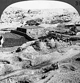 Brickmaking, Egypt, 1905