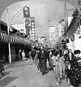A street in Yokohama, Japan, 1900s