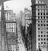 From the Empire building up Broadway, 1902