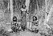 Angaite Indians, North Chaco, Paraguay, 1895
