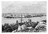 General view of Havana, taken from Casablanca, c1890