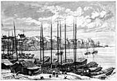 Wuhan, China, 1895