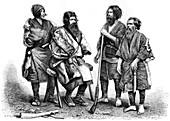 Ainu people, Japan, 1895