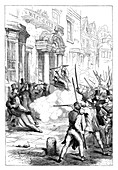 Chartist riots at Newport, Monmouthshire, 1839