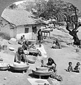 Village life, India, 1900s