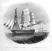 HMS 'Duke of Wellington, 1857