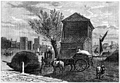 The old Horseferry, London, c1800