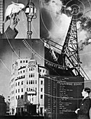 A visit to the BBC, 1937