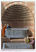 An Ancient Sarcophagus of Basaltes, 1802
