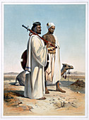 The Ababda, nomads of the eastern Thebaid Desert, 1848