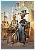 The tea seller, 1862