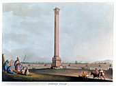 Pompey's Pillar, Alexandria, Egypt, 1802