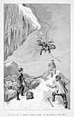 Mountaineering accident, 19th century