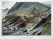 Port Looe, Cornwall, 1814-1825