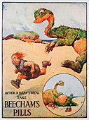 Beecham's Pills advertisement, 1914