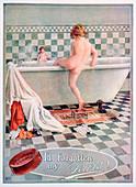 Pears soap advert, 1922