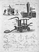 Fire engine, 1820