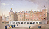 Christ's Hospital School, Newgate Street, London, 1831