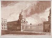 Fire at Greenwich Hospital, London, 2nd January, 1779