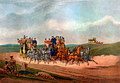The Opposition Coaches, 1837