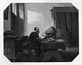 Metius, Dutch geometer and astronomer, c1870