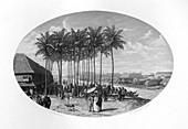 Foundation of Batavia, Java, Dutch East Indies, 1619