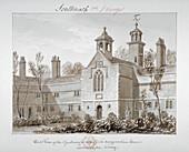 St Peter's Hospital, Southwark, London, 1827