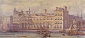 Billingsgate Market, London, 1877