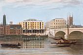 Fenning's Wharf, Bermondsey, London, c1835