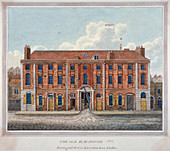 Salopian China Warehouse, Portugal Street, London, 1801
